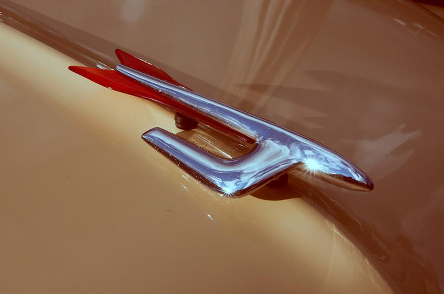 fordon  nostalgi detaljer Borås bil amerikanare