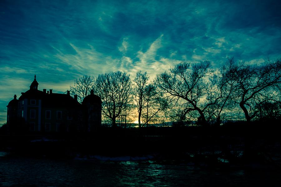 landskapet det vackra ljuset 365 foton 2013  vatten Strömsholm solnedgång slott skugga
