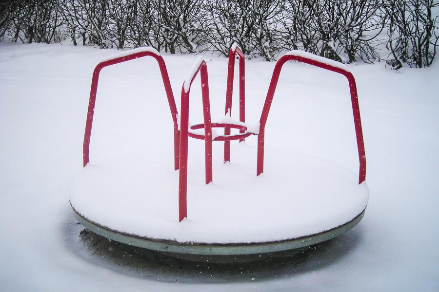 stadsmiljo 365 foton 2013  snö karusell