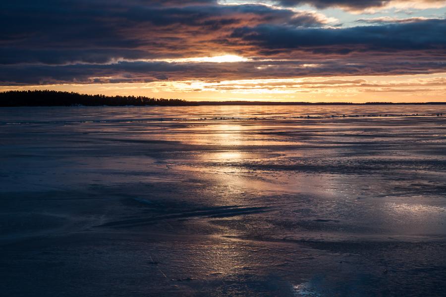 landskapet det vackra ljuset 365 foton 2013  vinter vatten Mälaren is